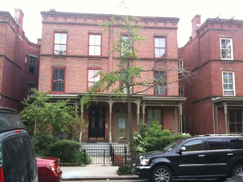 One of the Astor Row houses, in Harlem