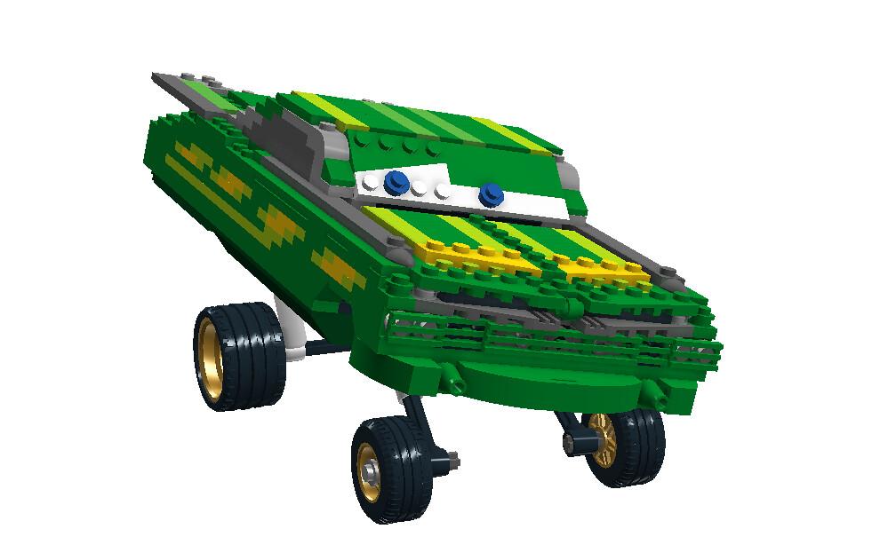 Green Ramone - Disney / Pixar 'Cars' Movie Character