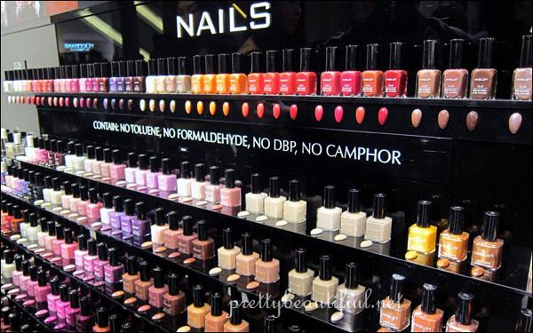 inglot nail polishes