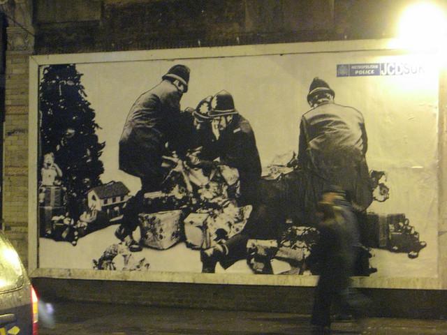 London Metropolitan Police - London Street Art