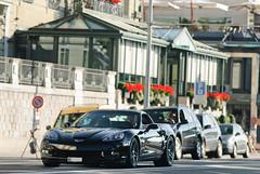 Chevrolet Corvette Z06 (Future Photography International) Tags: horse usa 6 black chevrolet car switzerland photo hp nikon noir power suisse geneva d c 8 competition s american 200 z 28 af gt nikkor ge 06 80 corvette genève nero f28 supercar v8 ch c6 80200mm 80200 z06 noire 80mm 200mm afd d80 worldcars