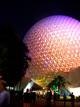 Rainbow Spaceship Earth