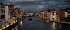 Great Channel (Julio Lpez Saguar) Tags: venice light urban italy luz night landscape noche italia peace magic paz paisaje panoramic urbano venecia gndola panormica grancanal mgica greatchannel juliolpezsaguar