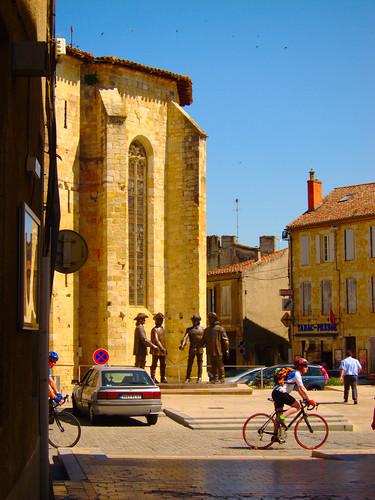 France Church Outside by Danalynn C