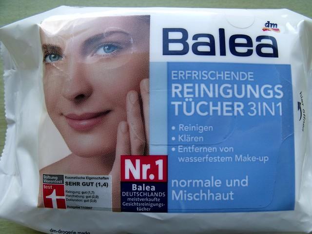 Balea makeup remover