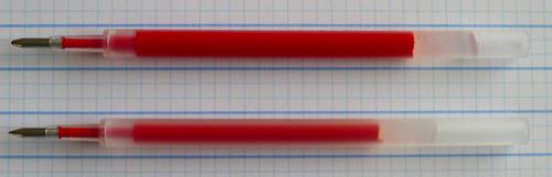 Zebra Sarasa Clip Refill 0.3mm vs. 1.0mm