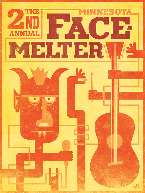 The 2nd Annual Minnesota Facemelter - Poster