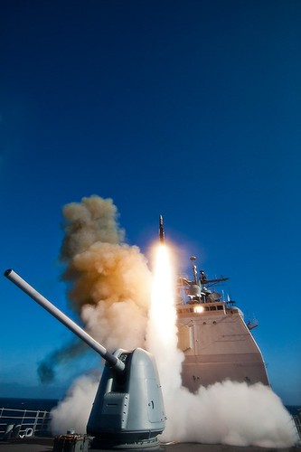 Missile Shoot during Combat Systems Ship Qualifications Trials (CSSQT) onboard USS Antietam (CG 54)