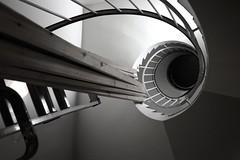 Espiral en obras (PloPh) Tags: iceland islandia reykjavick escaleras obras cruzadas