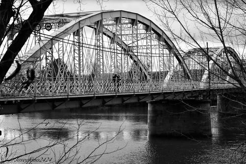 Puente de hierro, Coria-Caceres