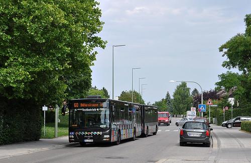 In der Gundermannstraße fährt das besondere Gespann...
