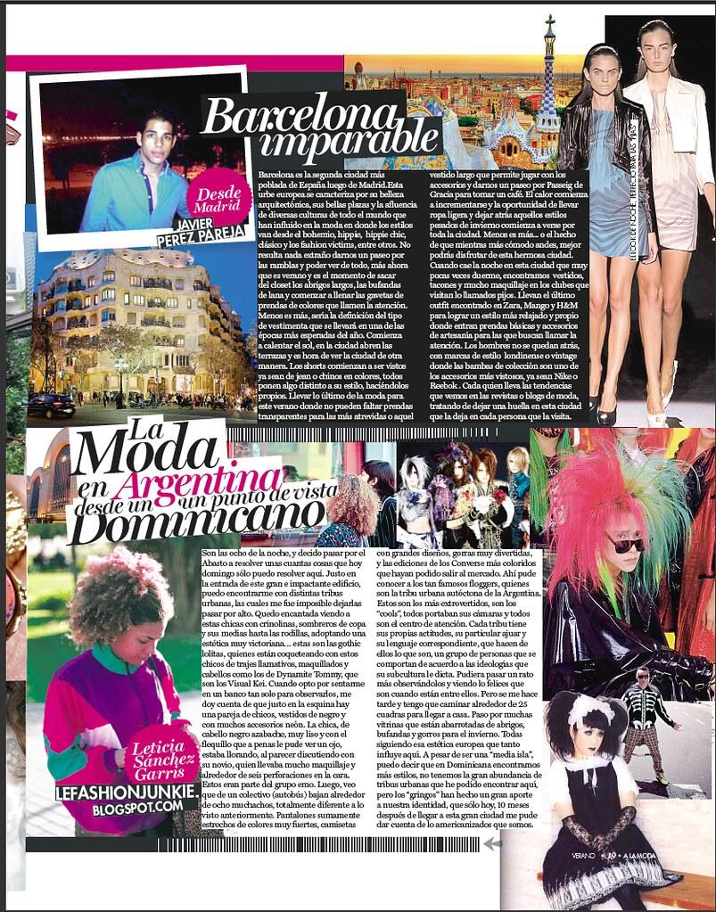 La Moda en Argentina desde El Punto de Vista de una Dominicana