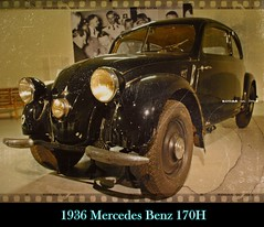 1936 Mercedes Benz 170H (PictureJohn64) Tags: auto heritage classic car museum 1936 mercedes benz automobile driving traffic famous den transport hague collection commercial transportation historical haag collectie fahrzeug oto historisch verkeer vervoer klassiek  samochd beroemd gravenhage otomobil louwman automobiel worldcars 170h  automoviel klassiesch