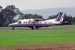1987-07-22-005FN D-CBOL (BringBackEGDG) Tags: plymouth dornier roborough do228201