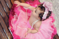 "Baby girl ""J"" (Rawan Mohammad ..) Tags: pink baby girl kids photography photo kid big eyes nikon photos australia before brisbane mohammed newborn saudi arabia after how tamron mohammad edit 2012 2010 rn   youtube rawan         d300s rnona"