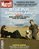 COUVERTURE DU PARIS MATCH N° 2971 DU 27 AVRIL 2006 : BRAD PITT ANGELINA JOLIE. DANS LINTIMITE DU COUPLE STAR EN NAMIBIE