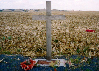 Cross at Ypres to mark WW1  Christmas Truce