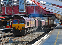 66204. (curly42) Tags: transport shed railway crewe coal freight dbs class66 66204 4f96