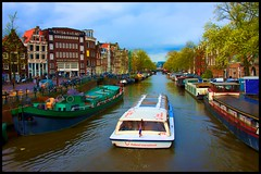 Technicolor Amsterdam (Jim Nix / Nomadic Pursuits) Tags: travel holland amsterdam canal nikon europe cityscape thenetherlands nomadicpursuits gpsetest