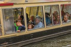 trippers (stevefge) Tags: london camden regentscanal canals people men water boys boats candid reflectyourworld
