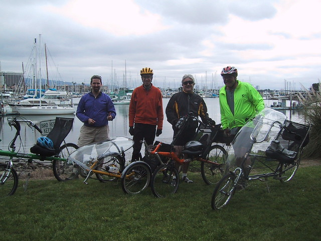 Recumbent riders of the East bay