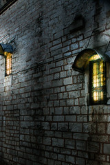The warming glow (doncontrols) Tags: light cold stone wall architecture bars warm iron glow istanbul friendly lightshop