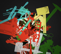 VEC011 (Justin Windle) Tags: abstract flash montage generative vector as3