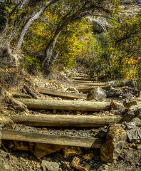 Mill B trail_Stairs