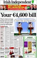 La factura de Irlanda