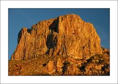 Casa Grande Golden Light (troubledog) Tags: orange catchycolors nationalpark bigbend goldenlight casagrande