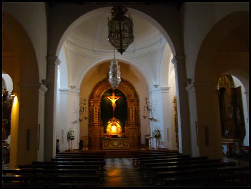 Iglesia de El Salvador Interior