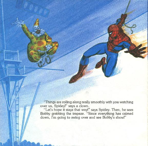 Spider-Man - The Big Top Mystery025