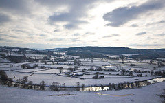Snow over the Tywi Valley (Eiona R.) Tags: snow wales landscape carmarthenshire wfc wideangled dinefwrpark