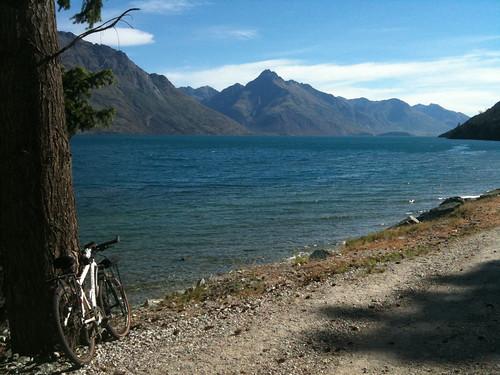 ワカティプ湖が文句なく美しい