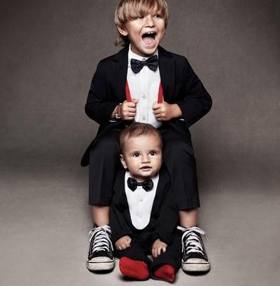 H m moda infantil de fiesta de h m vestidos corbatas - Trajes de navidad para bebes ...