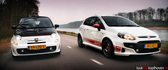 THIS IS ABARTHA! (Luuk van Kaathoven) Tags: punto fiat duo automatic 500c manual van gearbox evo abarth luuk autogetestnl luukvankaathovennl autogetest kaathoven