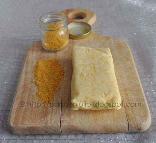 burro alla polvere di mandarino