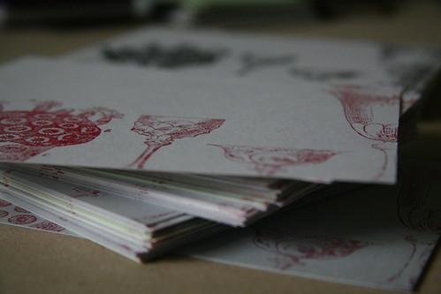 xmas postcards