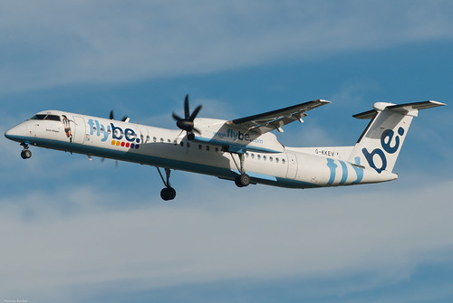 Flybe (British European) De Havilland Canada DHC-8-402 G-KKEV Kevin Keegan (48189)