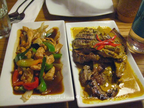 Gai Pad Cashew Nuts & Gaeh Yang - Rosa's , Soho