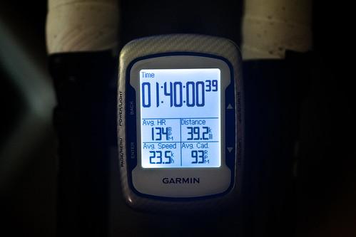 100min ave23.5 39.2km
