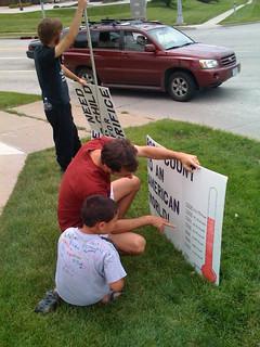 Anti-Torture Vigil - Week 19