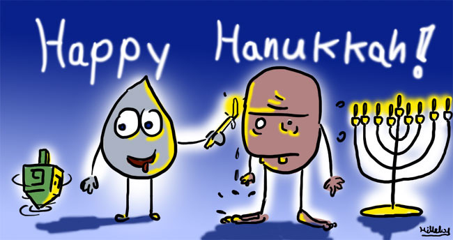 comics-strips - happy hanukka