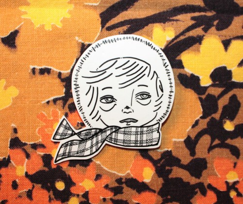 Girl No.3 Pin