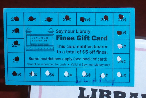 Library Fines Gift Card