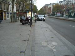 Парковка на велодорожке