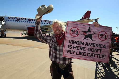 Virgin America Airlines Dallas-Fort Worth Launch