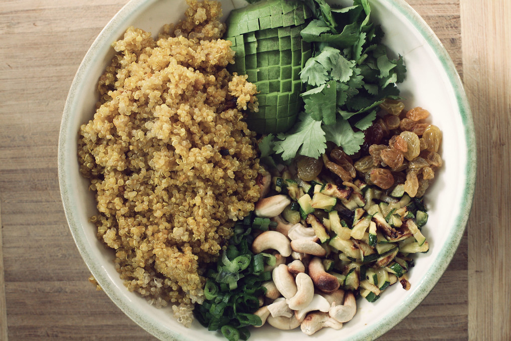 Quinoa Curry Salad