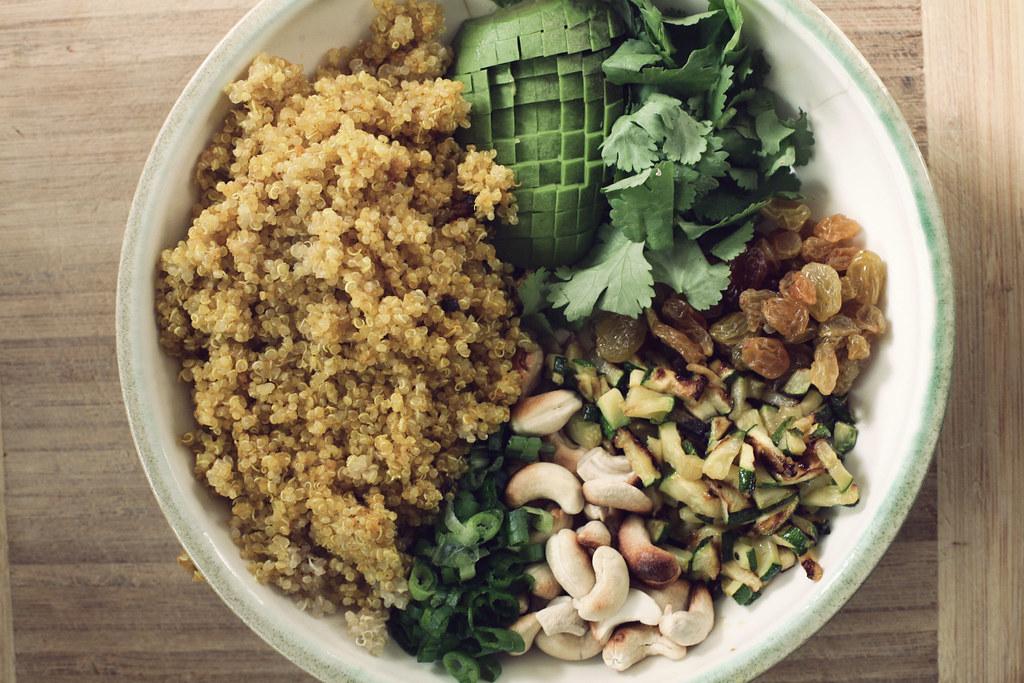 Quinoa Curry Salad