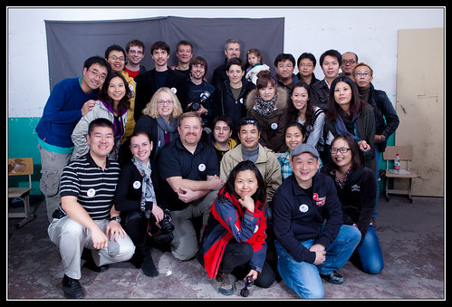 HelpPortrait 2010 Shanghai Group Shot!